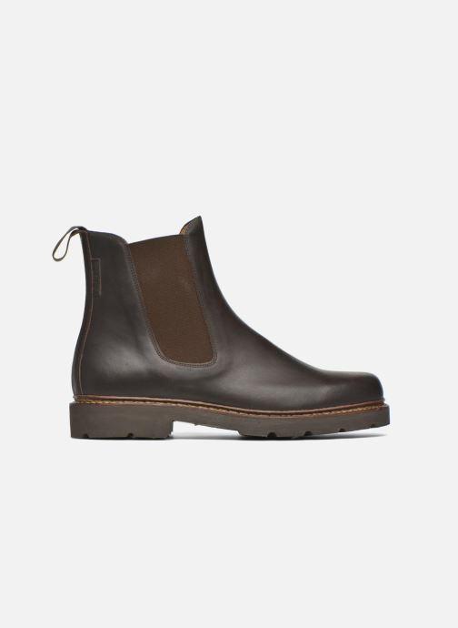 Bottines et boots Aigle Quercy Marron vue derrière