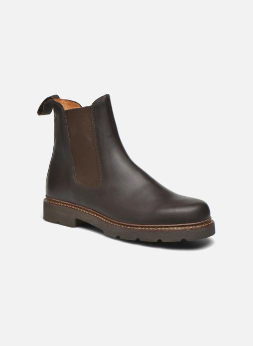 Ankle boots Aigle Quercy Brown detailed view/ Pair view