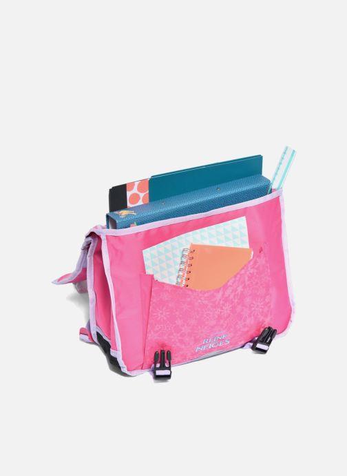 Schooltassen Disney Cartable 38cm Reine des neiges 2 Roze achterkant