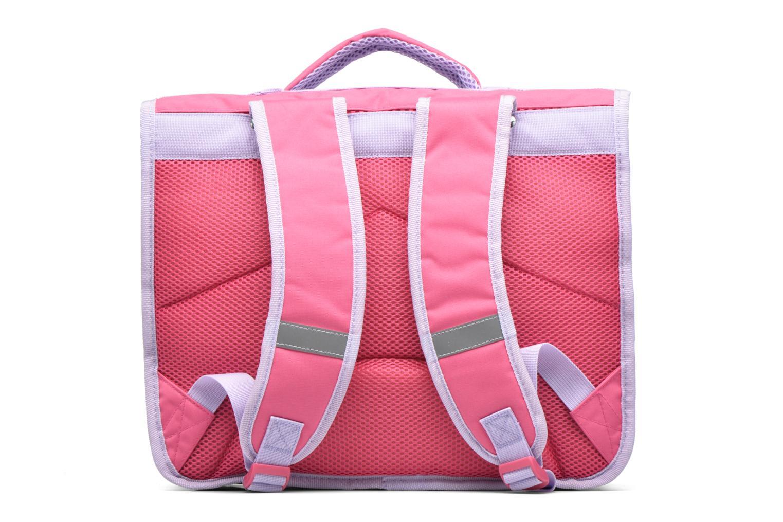 School bags Disney Cartable 38cm Reine des neiges 2 Pink front view