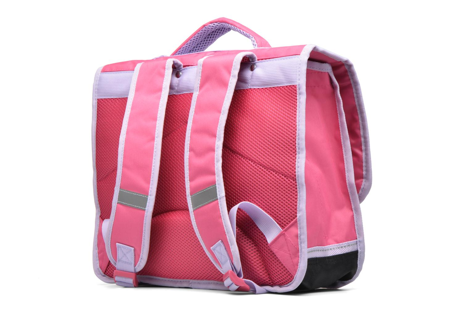 School bags Disney Cartable 38cm Reine des neiges 2 Pink view from the right
