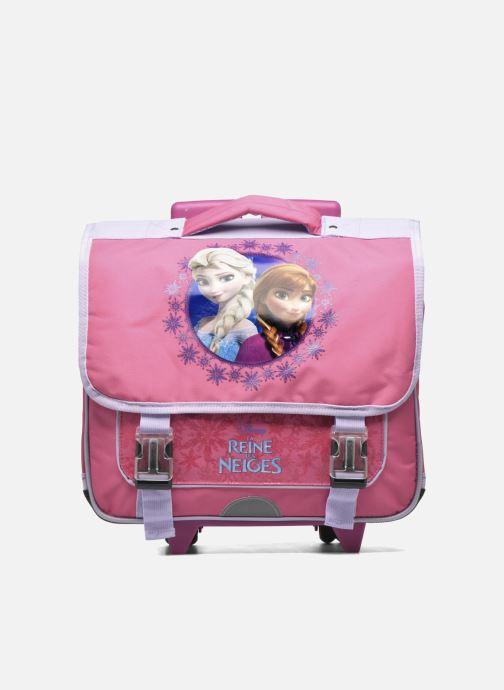 Schooltassen Disney Cartable 38cm Trolley Reine des neiges - Roze detail