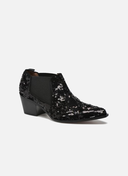 Ankle boots Sonia Rykiel Olé Black detailed view/ Pair view
