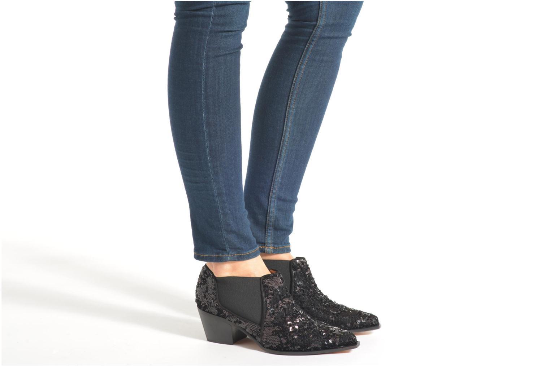 Stiefeletten & Boots Sonia Rykiel Olé schwarz ansicht von unten / tasche getragen