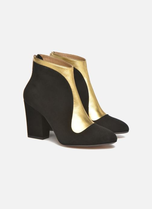 Ankle boots Sonia Rykiel Amé Black 3/4 view
