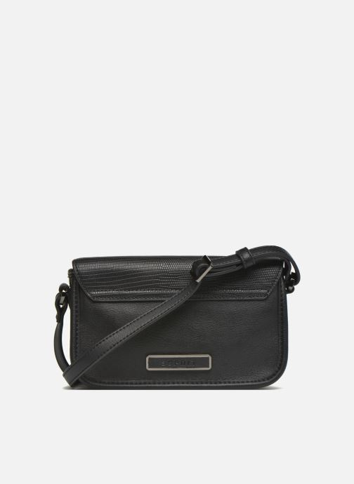 Handbags Esprit Ida small Shoulderbag Porté travers Black front view