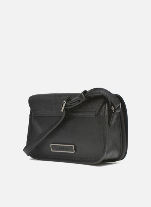 Handbags Esprit Ida small Shoulderbag Porté travers Black view from the right