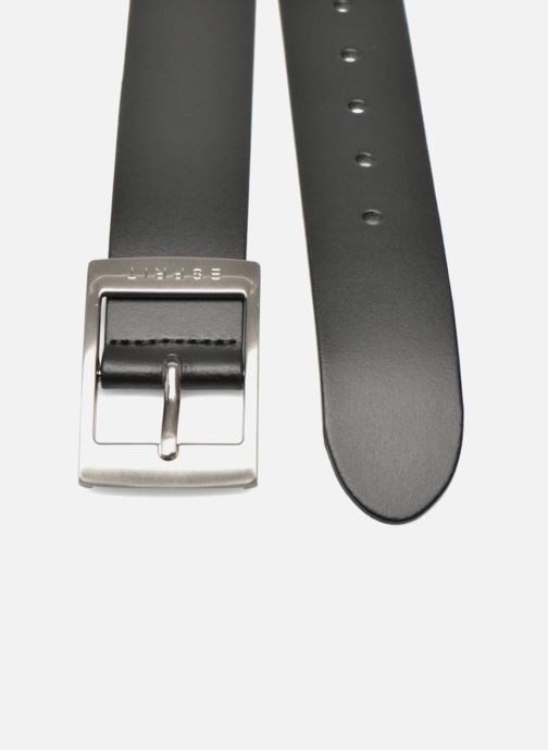 Cinture Esprit X Octavia Leather Belt 40mm Nero modello indossato