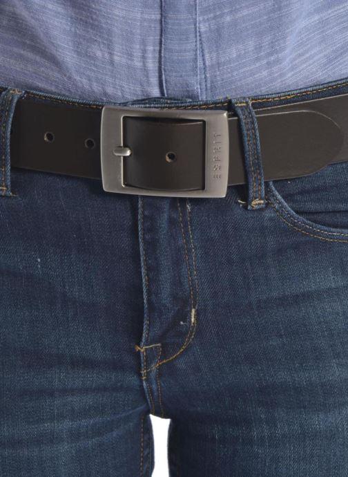 Cinture Esprit X Octavia Leather Belt 40mm Nero immagine dall'alto