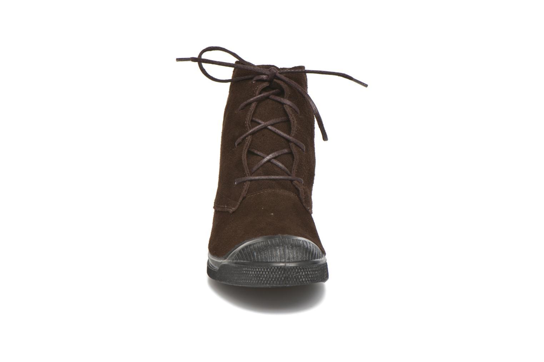 Baskets Bensimon Boots Dakota Marron vue portées chaussures