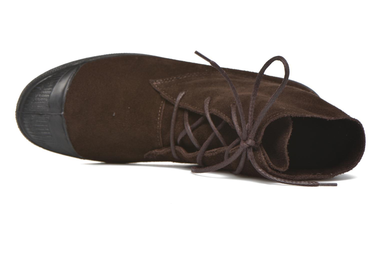 Baskets Bensimon Boots Dakota Marron vue gauche