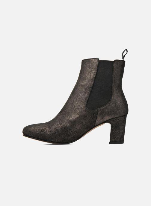 Bottines et boots Bensimon Boots talon élastique Argent vue face