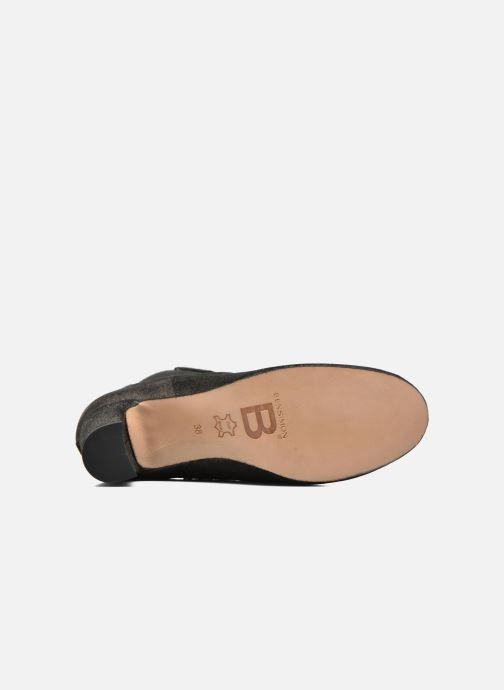 Botines  Bensimon Boots talon élastique Plateado vista de arriba