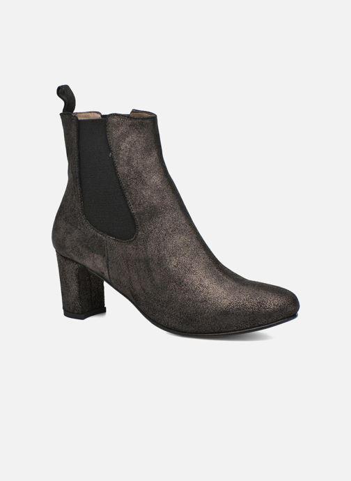 Ankelstøvler Bensimon Boots talon élastique Sølv detaljeret billede af skoene