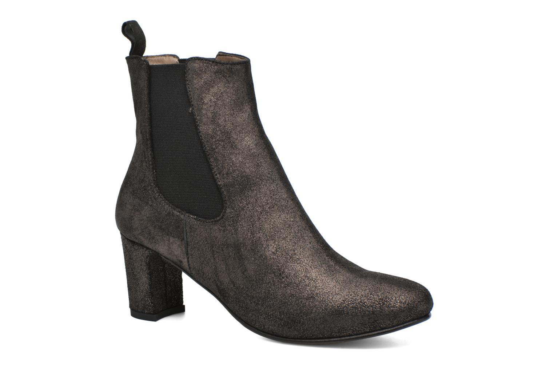 Cómodo y Boots bien parecido  Bensimon Boots y talon élastique (Plateado) - Botines  en Más cómodo 7ab620