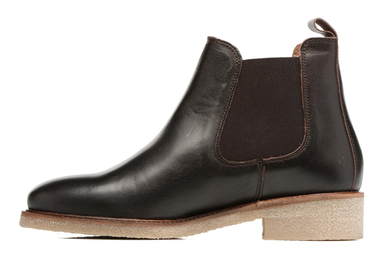 Botines  Bensimon Boots semelle crepe Marrón vista de frente