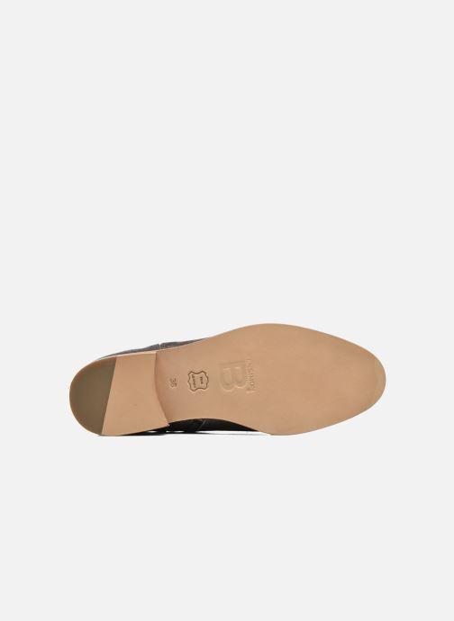 Boots en enkellaarsjes Bensimon Boots croute velours plate Grijs boven