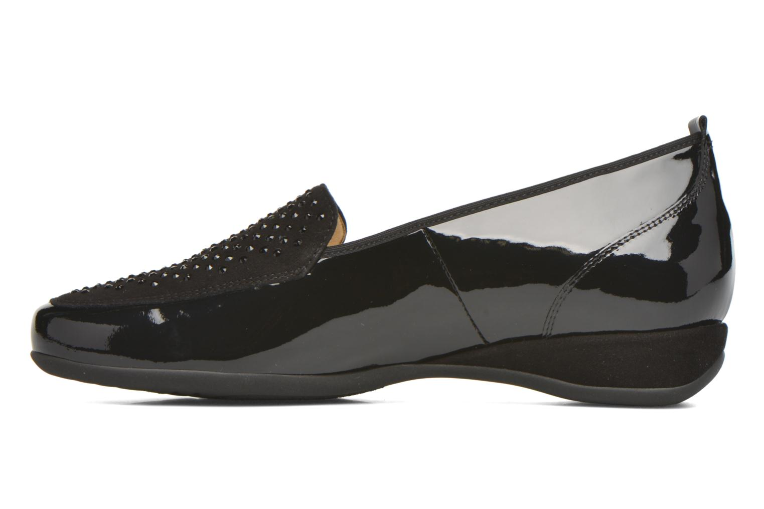 Loafers Hassia Petra 1744 Black front view