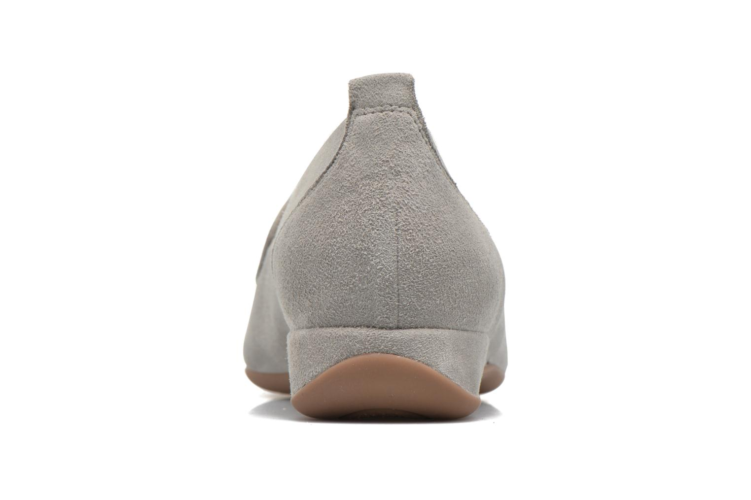 Loafers Hassia Petra 1744 Grey view from the right