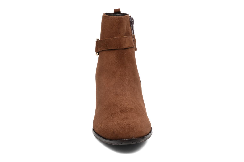 Bottines et boots Hassia Turin 6916 Marron vue portées chaussures