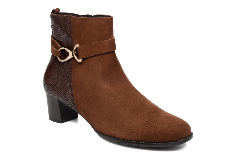 Bottines et boots Hassia Turin 6916 Marron vue détail/paire