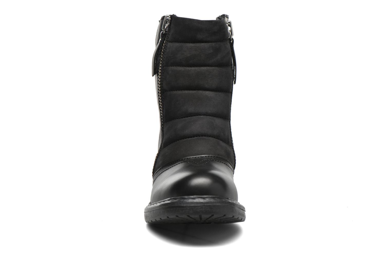Bottines et boots Diesel D-My Rock Pad Noir vue portées chaussures