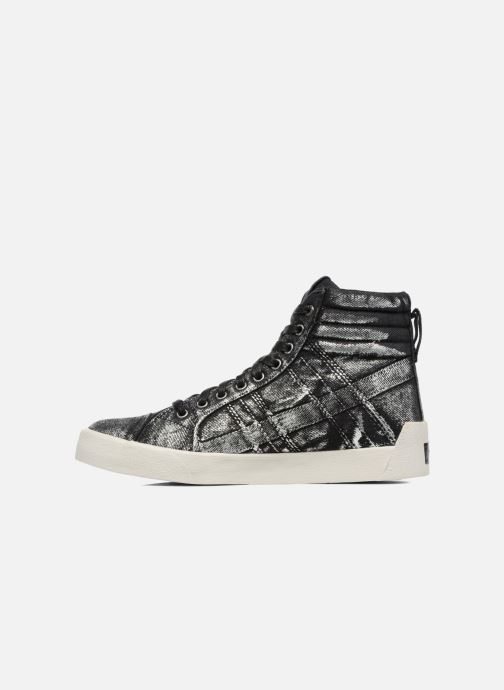 Sneakers Diesel D-String Plus W Argento immagine frontale