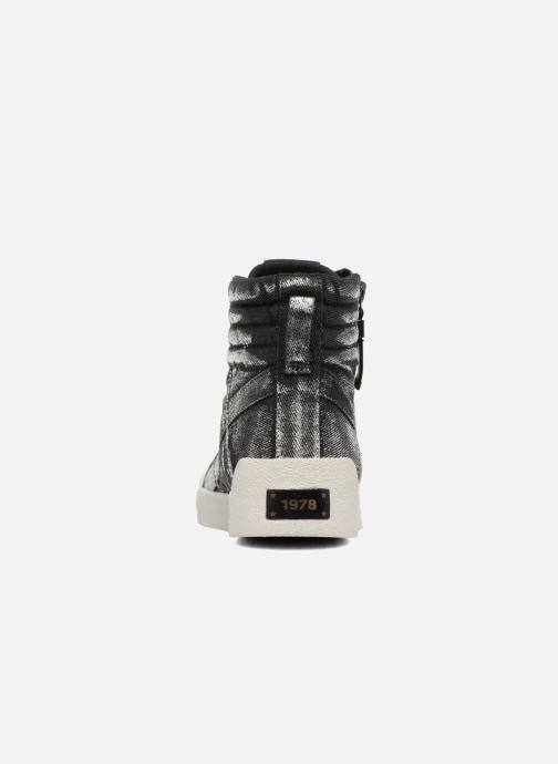 Sneakers Diesel D-String Plus W Argento immagine destra
