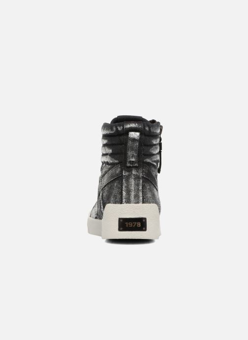 Sneakers Diesel D-String Plus W Zilver rechts