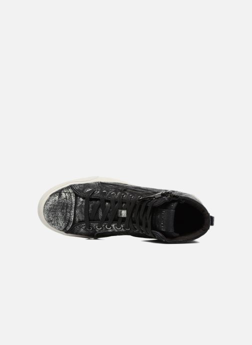 Sneakers Diesel D-String Plus W Argento immagine sinistra