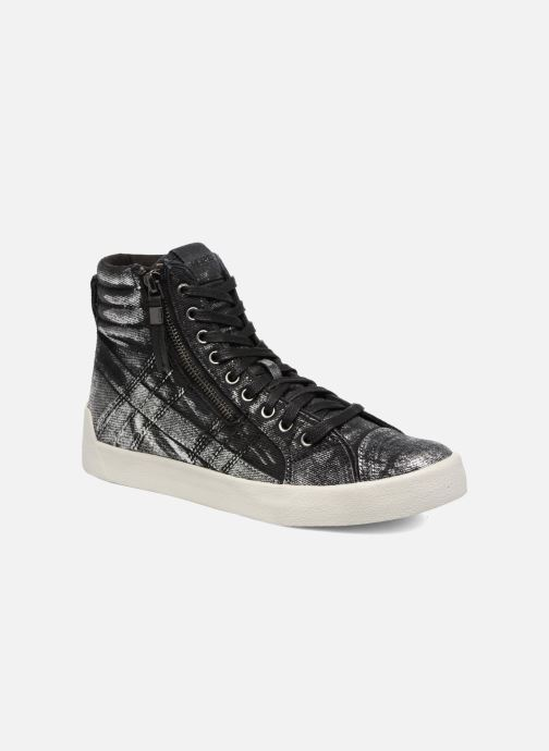 Trainers Diesel D-String Plus W Silver detailed view/ Pair view