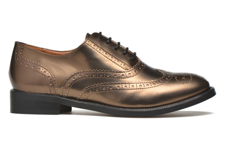 Zapatos con cordones Heyraud Dehbia Oro y bronce vistra trasera