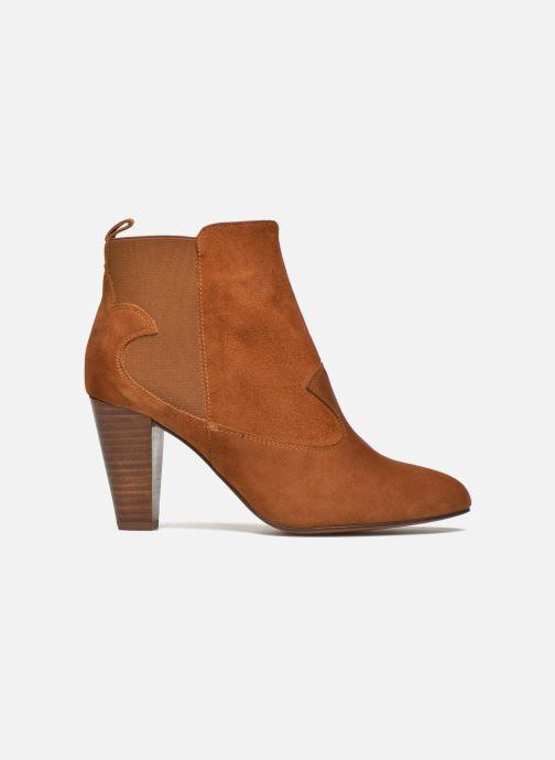 Bottines et boots Heyraud Daisy Marron vue derrière