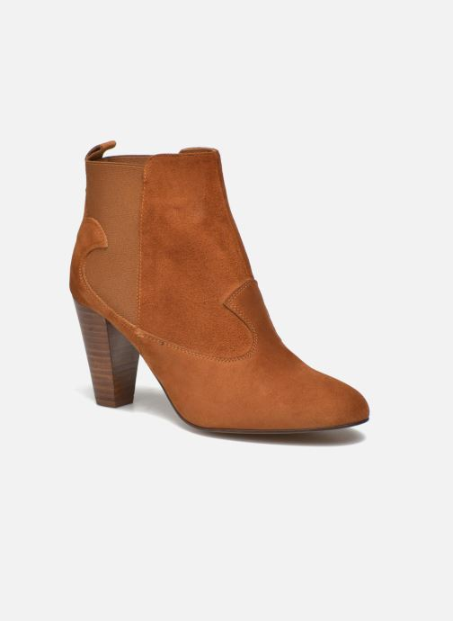 Ankle boots Heyraud Daisy Brown detailed view/ Pair view