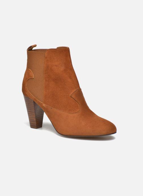 Bottines et boots Heyraud Daisy Marron vue détail/paire