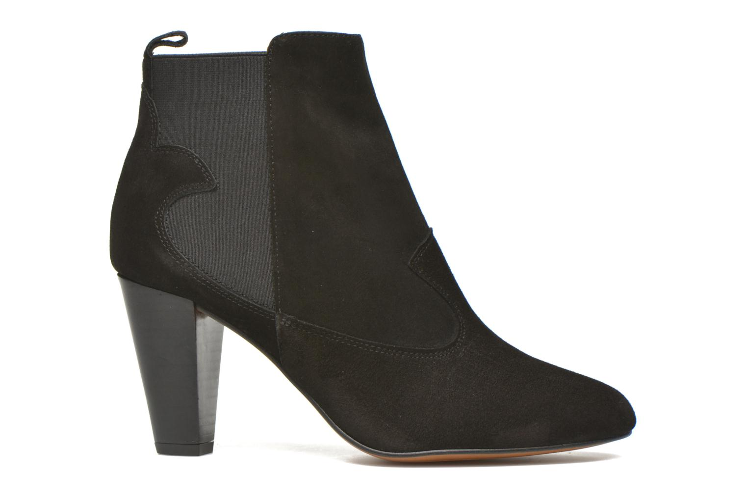 Ankle boots Heyraud Daisy Black back view