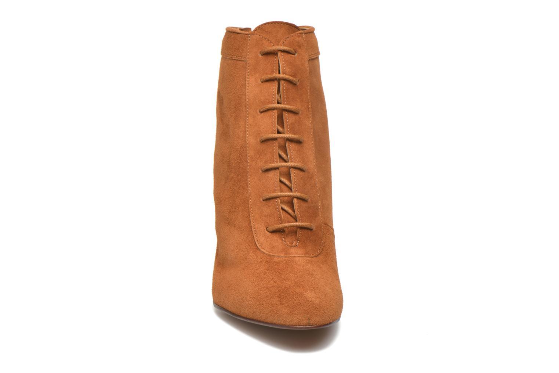 Bottines et boots Heyraud Devyn Marron vue portées chaussures
