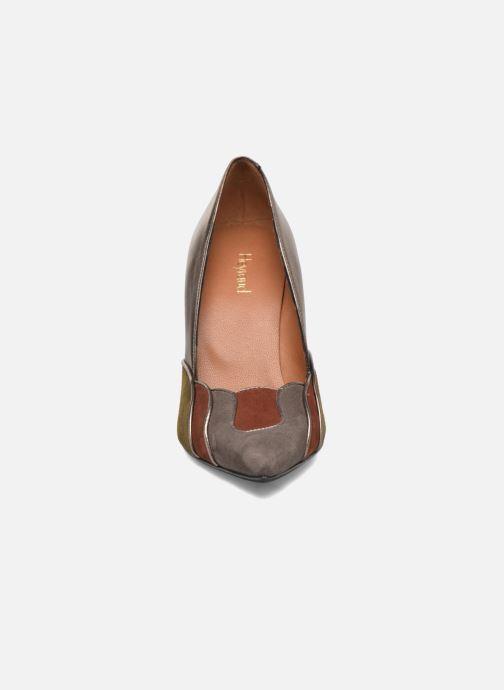 Zapatos de tacón Heyraud Dona Oro y bronce vista del modelo