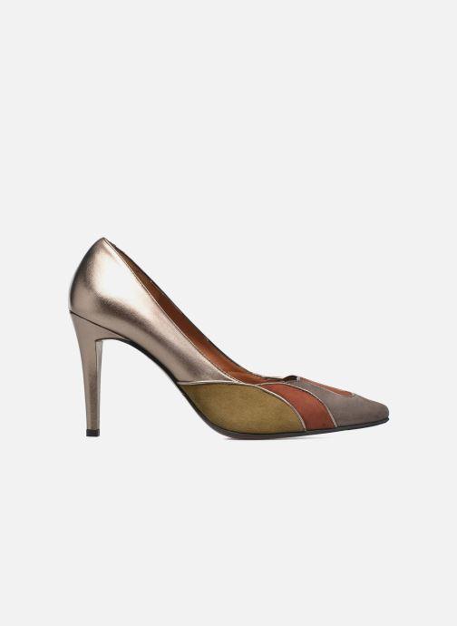 Zapatos de tacón Heyraud Dona Oro y bronce vistra trasera
