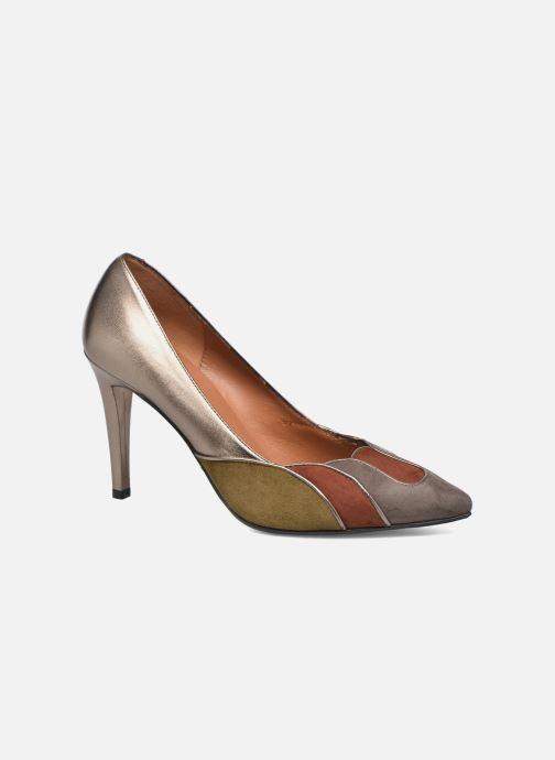 Zapatos de tacón Heyraud Dona Oro y bronce vista de detalle / par