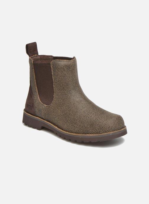 Stiefeletten & Boots UGG Callum Bomber K braun detaillierte ansicht/modell