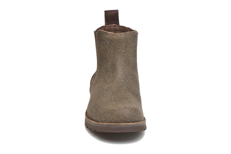 Bottines et boots UGG Callum Bomber K Marron vue portées chaussures