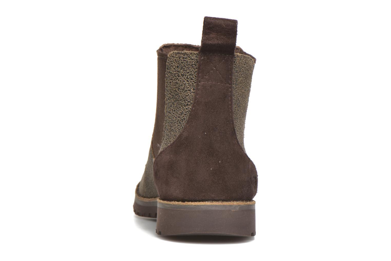 Bottines et boots UGG Callum Bomber K Marron vue droite