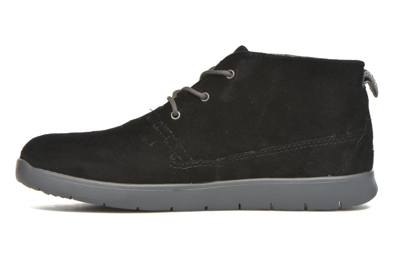 Chaussures à lacets UGG Canoe Suede Noir vue face