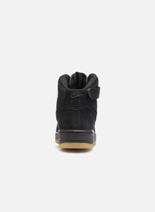 Sneaker Nike Air Force 1 High Lv8 (Gs) schwarz ansicht von rechts