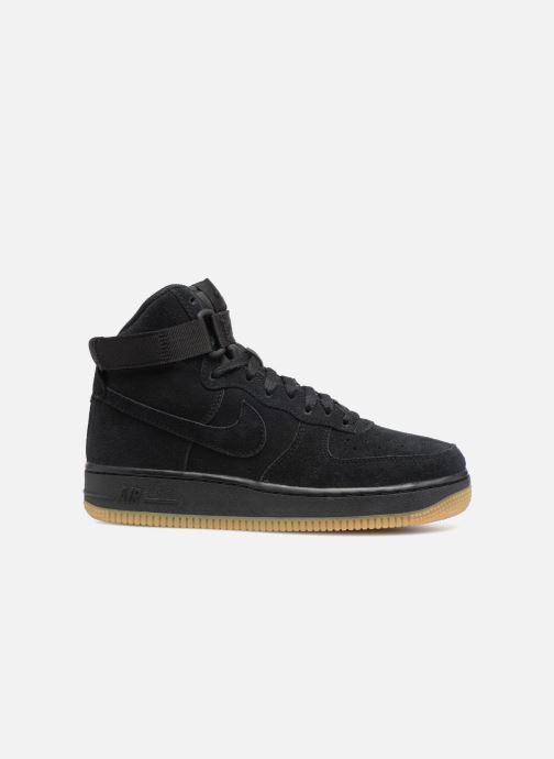 Sneaker Nike Air Force 1 High Lv8 (Gs) schwarz ansicht von hinten