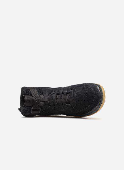 Sneaker Nike Air Force 1 High Lv8 (Gs) schwarz ansicht von links