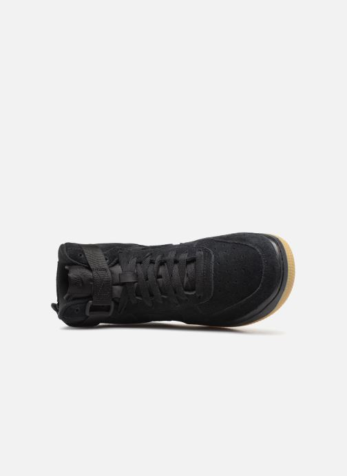 Sneaker Nike Air Force 1 High Lv8 (Gs) schwarz ansicht von links