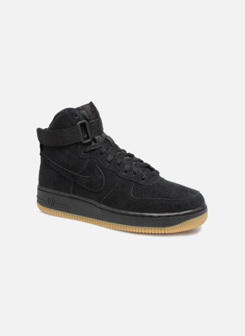 Sneaker Nike Air Force 1 High Lv8 (Gs) schwarz detaillierte ansicht/modell