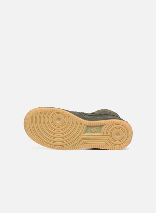 Sneaker Nike Air Force 1 High Lv8 (Gs) grün ansicht von oben